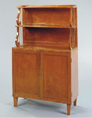 A REGENCY SATINWOOD AND GILT-M