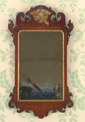 A GEORGE II MAHOGANY, PARCEL-G