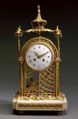 A DIRECTOIRE ORMOLU AND WHITE