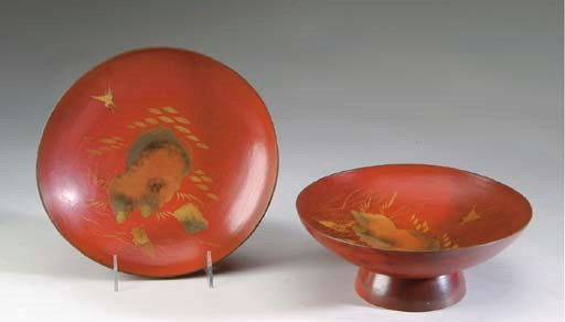 A GROUP OF JAPANESE LACQUER WA