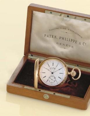 PATEK PHILIPPE. AN 18K GOLD HU