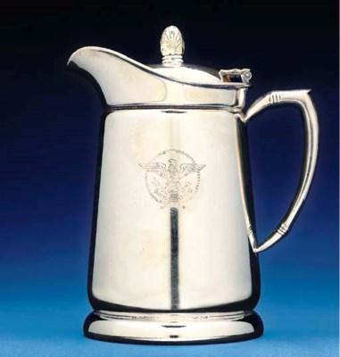 A cabin service coffee pot in