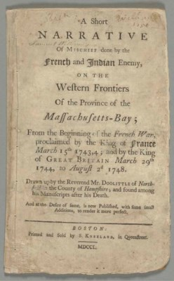 DOOLITTLE, Benjamin (1695-1749