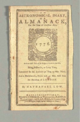 LOW, Nathanael (1740-1808). An