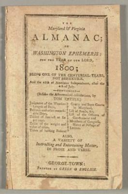 The Maryland & Virginia Almana