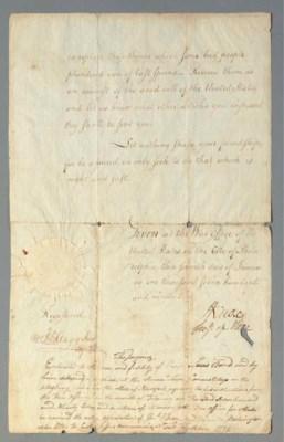 KNOX, Henry (1750-1806), Secre