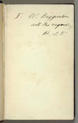 THOREAU, Henry David (1817-186