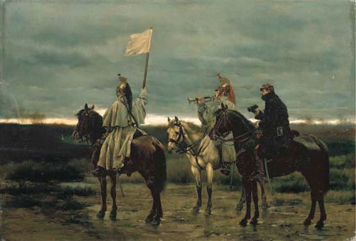 EDOUARD DETAILLE (PARIS 1848-1