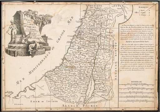 BONNE. Carte des douze tribus