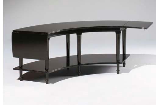 TABLE BASSE DE FORME INCURVEE
