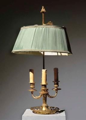 LAMPE BOUILLOTE DE STYLE LOUIS