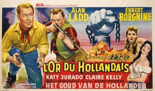 L'OR DU HOLLANDAIS, 1958