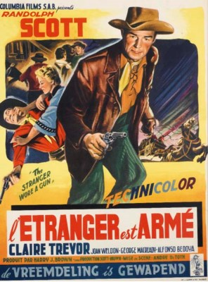 L'ETRANGER EST ARME, 1953