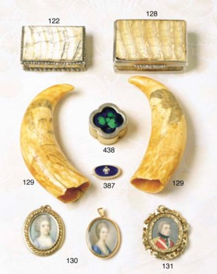 TWO OVAL MINIATURES OF LADIES