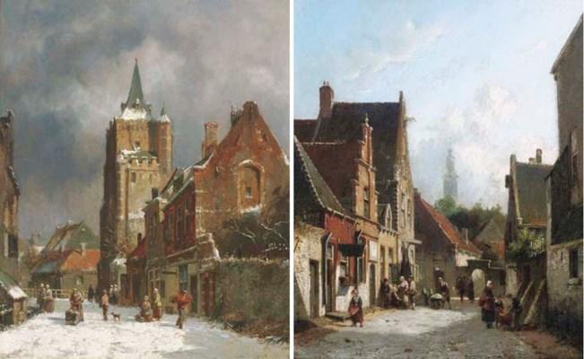 Adrianus Eversen (Dutch, 1818-