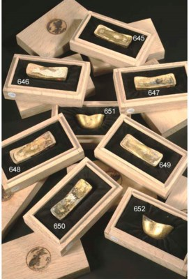 A Chinese 'Nanking Cargo' gold