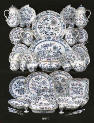 (121) A Meissen porcelain 'Zwi