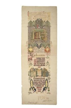 NICHOLAS II --  Svyashchennoe Venchanie na Tsartsvo Gosudary