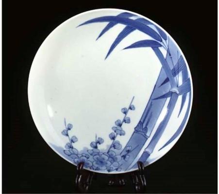 A Nabeshima blue and white dis