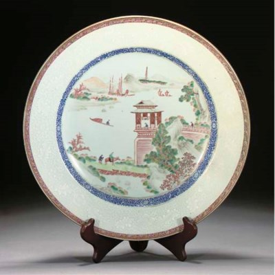 A Chinese export charger, 18th
