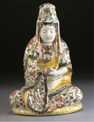 A Japanese polychrome model of