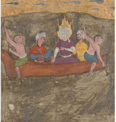A PROPHET IN A BOAT, QAZVIN, I
