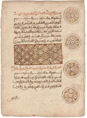QUR'AN, CENTRAL AFRICA, 19TH C
