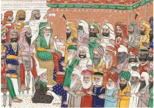 DURBAR OF MAHARAJA RANJIT SING