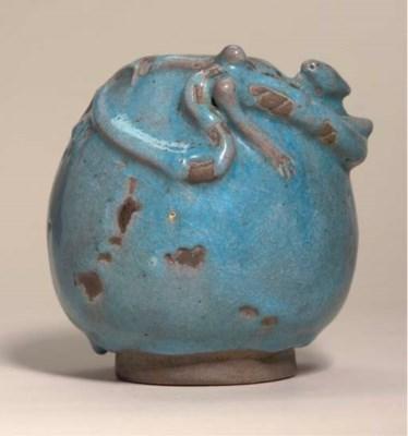 A Jun-style water-pot, 19th ce