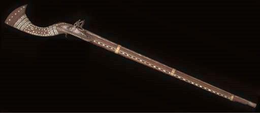 An Ottoman flintlock gun, Nort