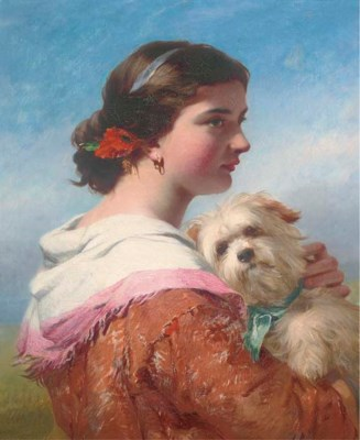 Attributed to James John Hill,