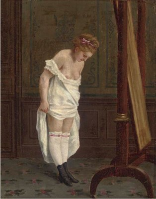 Cirle of Thomas Couture (Frenc