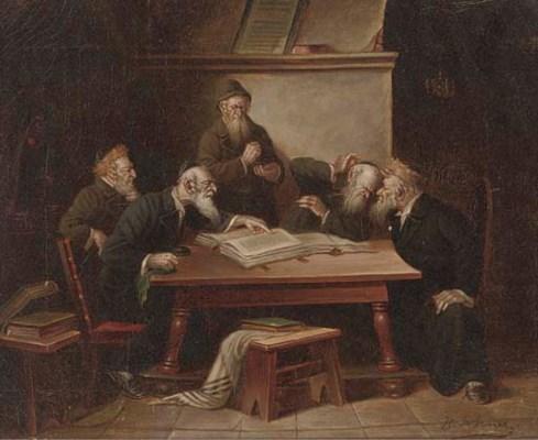 B. Werner (German, 19th/20th C