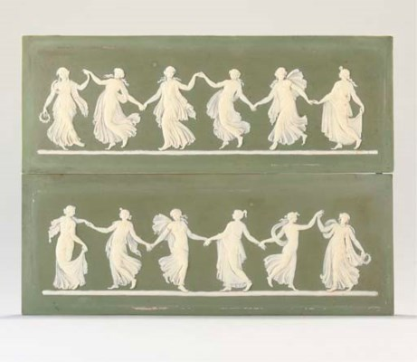 A COLLECTION OF WEDGWOOD JASPE