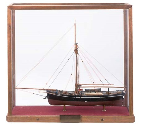 A  3/16IN: 1FT SCALE MODEL OF