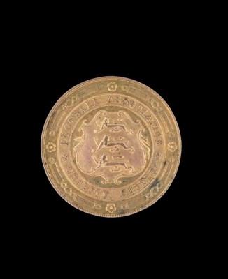 A 14CT GOLD 1935 CHARITY SHIEL