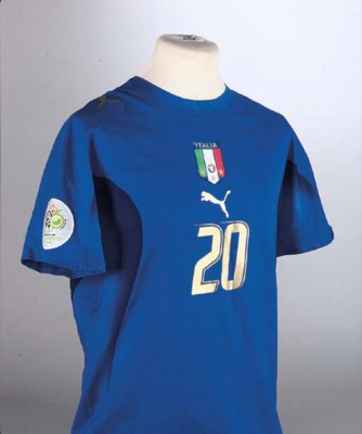 A BLUE ITALY 2006 WORLD CUP FI