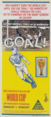 A 1966 WORLD CUP 'GOAL!' POSTE