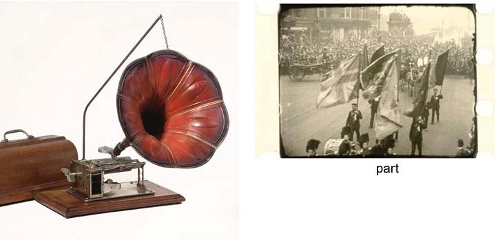 A French 'Puck' phonograph