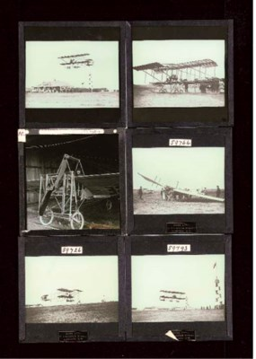Aviation lantern slides