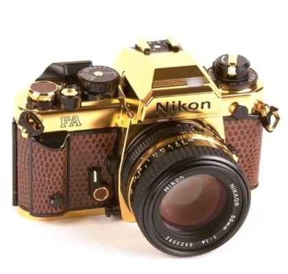 Nikon FA Gold no. 2004520
