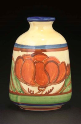 A CLARICE CLIFF ORANGE LILY 17