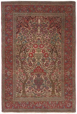 A fine Teharan prayer rug, Nor