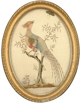 A REGENCY NEEDLEWORK PICTURE