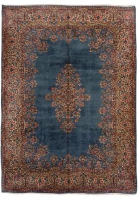 A fine Kirman carpet