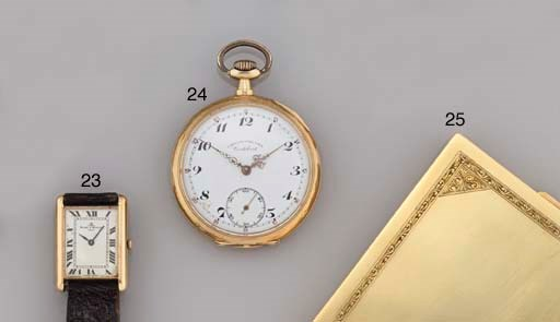 Two open faced pocket watches