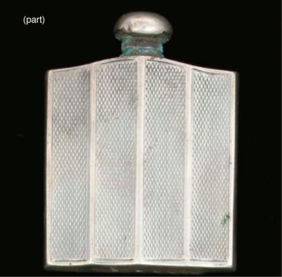 Eleven various scent bottles