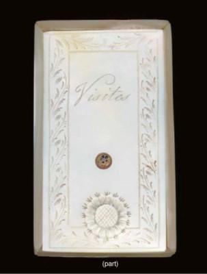 A Palais Royal mother-of-pearl