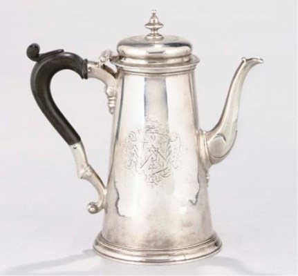 AN 18TH CENTURY STYLE SILVER C