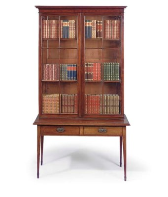 A VICTORIAN MAHOGANY DISPLAY B